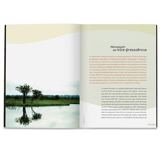 Conservation International – Relatório de Atividades