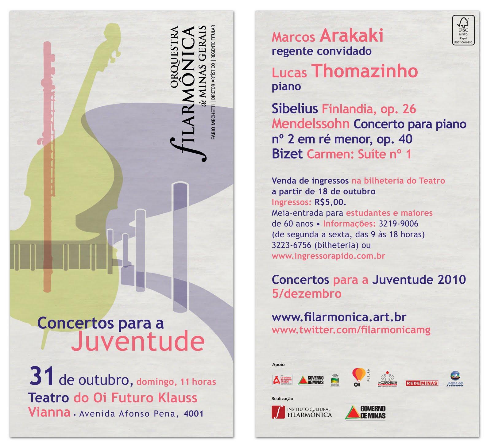 Orquestra Filarmônica – Concertos para a Juventude