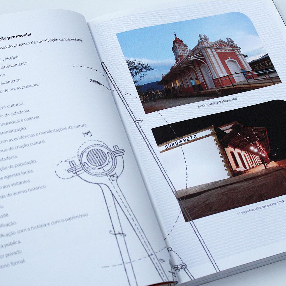 Projeto Trem da Vale :: Livro