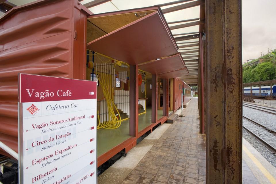 Trem da Vale – Programação Visual da Museografia e Sinalização